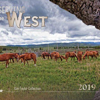 2019 Preserving the West Calendar