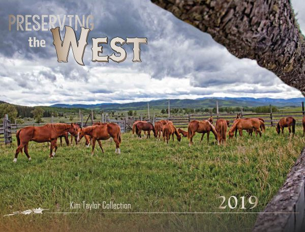 2019 Preserving the West Calendar